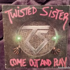 Discos de vinilo: TWISTED SISTER: COME OUT AND PLAY. LP 12¨. 1985.. Lote 179335495