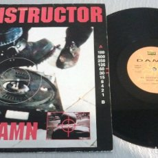 Discos de vinilo: DAMN / EL INSTRUCTOR / MAXI-SINGLE 12 INCH. Lote 179335683
