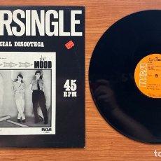 Discos de vinilo: THE MOOD // DON'T STOP // ESPECIAL DISCOTECA // MAXI SINGLE. Lote 179338138