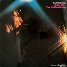 Discos de vinilo: GATO BARBIERI – CHAPTER THREE: VIVA EMILIANO ZAPATA - LP SPAIN 1977 - ABC IMPULSE! DQ-9008. Lote 179340518