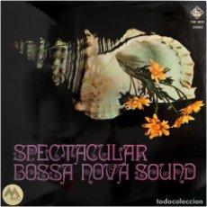 Discos de vinilo: A UNION OF KOTO, SHAKUHACHI AND BIG BAND - SPECTACULAR BOSSA NOVA SOUND - LP SPAIN 1971 - KING. Lote 179340638