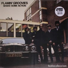 Discos de vinilo: FLAMIN' GROOVIES SHAKE SOME ACTION LP . CYRIL JORDAN ROY LONEY DAVE EDNUNDS ROCK. Lote 179340668