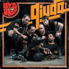 Discos de vinilo: GIUDA LET'S DO IT AGAIN LP . GLAM PUNK ROCK SLADE SWEET TAXI PUB ROCK. Lote 179340916