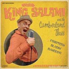 Discos de vinilo: KING SALAMI AND THE CUMBERLAND THREE FOURTEEN BLAZIN' BANGERS!! LP . GARAG. Lote 179341297