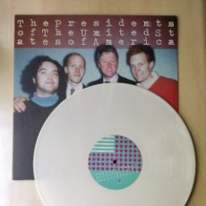 Discos de vinilo: THE PRESIDENTS OF UNITED STATES OF AMERICA ST/SPAIN/MUNSTER/1995/WHITE VYNIL/ULTRA RARE . Lote 179341371