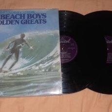 Discos de vinilo: BEACH BOYS-20 GOLDEN HITS-2 LP. Lote 179341848