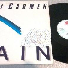 Discos de vinilo: PHIL CARMEN / RAIN / MAXI-SINGLE 12 INCH. Lote 179342178