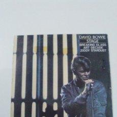 Discos de vinilo: DAVID BOWIE BREAKING GLASS / ART DECADE ZIGGY STARDUST ( 1978 RCA ESPAÑA ) BUEN ESTADO GENERAL . Lote 179342221