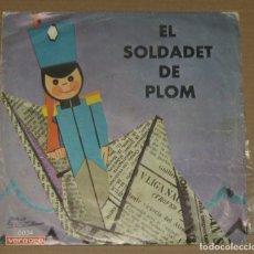Discos de vinilo: EL SOLDADET DE PLOM - VERGARA 1975. Lote 179343482