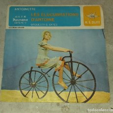 Discos de vinilo: ANTOINETTE: LES ELUCUBRATIONS D'ANTOINE / ROCK ON THE BEACH (MARFER PANORAMA 1966). Lote 179346898