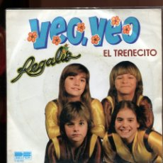 Discos de vinil: REGALIZ. VEO VEO EL TRENECITO. BELTER 1981. SP. Lote 179375281