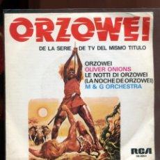 Discos de vinilo: ORZOWEI. PRIMER DISCO. RCA 1977. SP PROMOCIONAL. Lote 179375338
