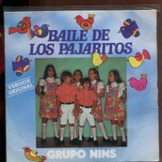 Discos de vinilo: GRUPO NINS. BAILE DE LOS PAJARITOS. CARDISC 1981. SP . BUEN ESTADO. Lote 179375575