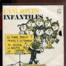 Discos de vinilo: CANCIONES INFANTILES. PHILIPS 1969. Lote 179375712