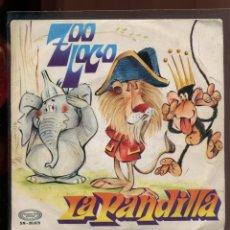 Discos de vinilo: LA PANDILLA. ZOO LOCO. MOVIEPLAY 1972. EP BUENO. Lote 179375910