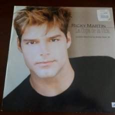 Discos de vinilo: RICKY MARTIN - LA COPA DE LA VIDA - MAXI SINGLE.12 . Lote 179379540