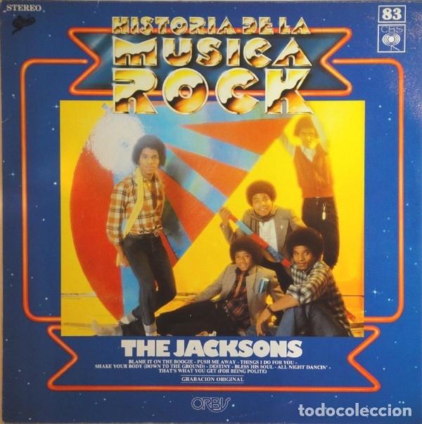 THE JACKSONS - HISTORIA DE LA MUSICA ROCK 83 (Música - Discos de Vinilo - EPs - Rock & Roll)