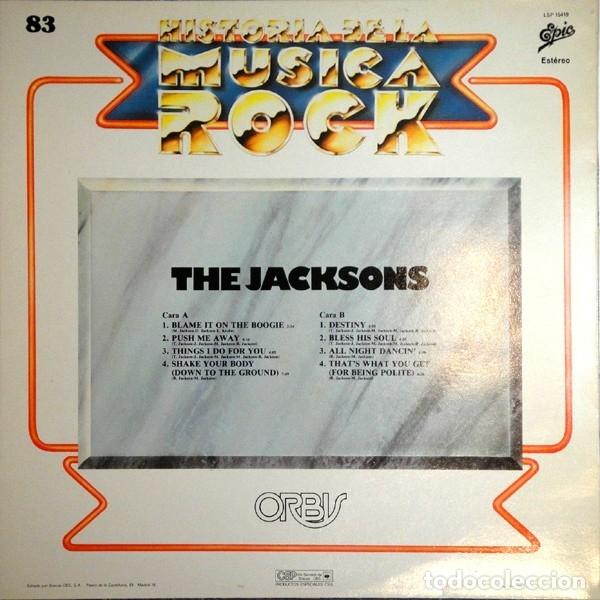 Discos de vinilo: THE JACKSONS - HISTORIA DE LA MUSICA ROCK 83 - Foto 2 - 179380730