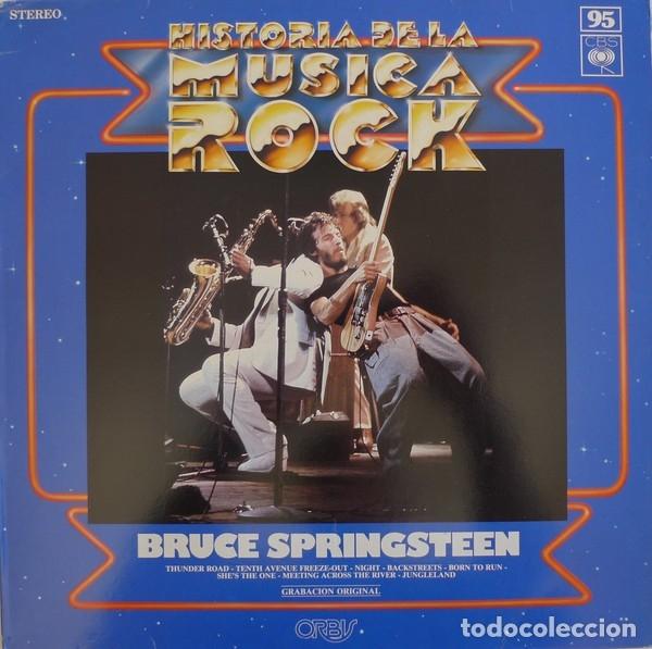 BRUCE SPINGSTEEN - HISTORIA DE LA MUSICA ROCK 95 (Música - Discos de Vinilo - EPs - Rock & Roll)