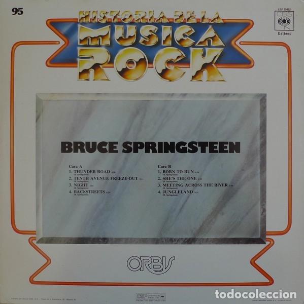 Discos de vinilo: BRUCE SPINGSTEEN - HISTORIA DE LA MUSICA ROCK 95 - Foto 2 - 179381032