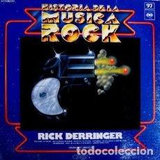 Discos de vinilo: RICK DERRINGER - HISTORIA DE LA MUSICA ROCK 97. Lote 179381095