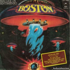 Discos de vinilo: BOSTON - MORE THAN A FEELING / SMOKIN (SINGLE ESPAÑOL, EPIC 1976). Lote 179381370