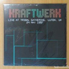 Discos de vinilo: KRAFTWERK - LIVE AT TRIBAL GATHERING LUTON UK 24 MAY 1997 - LP. Lote 179382355