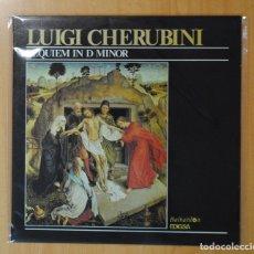 Discos de vinilo: LUIGI CHERUBINI - REQUIEM IN D MINOR - LP. Lote 179385240