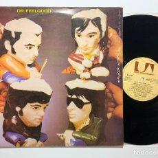 Discos de vinilo: DISCO LP VINILO DR. FEELGOOD LET IT ROLL DÉJALO RODAR PRIMERA EDICION ESPAÑOLA 1979. Lote 179385727