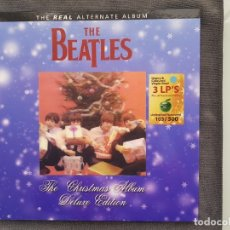 Discos de vinilo: THE BEATLES - THE CHRISTMAS ALBUM DELUXE EDITION NO 103 - BLUE. Lote 179386126