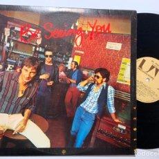 Discos de vinilo: DISCO LP VINILO DR. FEELGOOD BE SEEING YOU PRIMERA EDICION ESPAÑOLA 1977. Lote 179386412