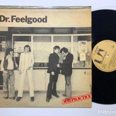 Discos de vinilo: DISCO LP VINILO DR. FEELGOOD MALPRACTICE PRIMERA EDICION ESPAÑOLA 1975. Lote 179386671