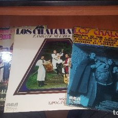 Discos de vinilo: LOS CHALCHALEROS, 3 LPS NUEVOS, VER FOTO. Lote 179387856