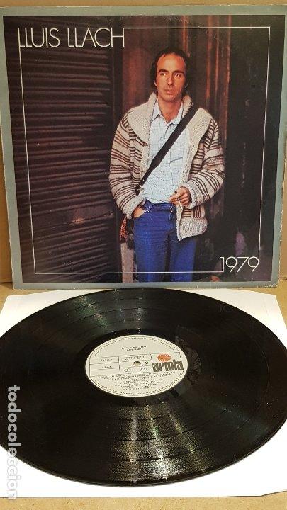 LLUÍS LLACH / 1979 / LP - ARIOLA - 1979 / MBC. ***/*** (Música - Discos - LP Vinilo - Cantautores Españoles)