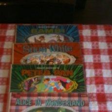 Discos de vinilo: WALT DISNEY LOTE DE 44 DISCOS SINGLES Y LPS. Lote 179391642
