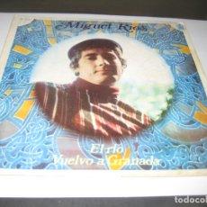Discos de vinilo: MIGUEL RIOS - EL RIO - VUELVO A GRANADA 1968 SINGLE. Lote 179395671