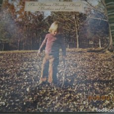 Discos de vinilo: THE ALLMAN BROTHERS BAND - BROTHERS AND SISTERS LP - ORIGINAL U.S.A. - CAPRICORN 1973 - GATEFOLD COV. Lote 179395751