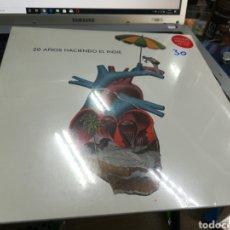 Discos de vinilo: 20 AÑOS HACIENDO EL INDIE LP + CD 2013 PRECINTADO. Lote 179326145