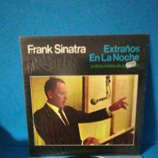 Discos de vinilo: LP - FRANK SINATRA - EXTRAÑOS EN LA NOCHE. Lote 179397717