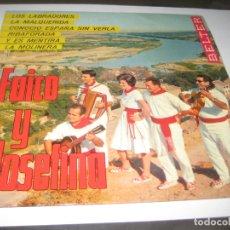 Discos de vinilo: FAICO Y JOSEFINA - LOS LABRADORES EP. Lote 179400073
