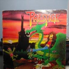 Discos de vinilo: LP PRESTIGE : ( FINLAND ROCK METAL TRASH BAND ) : ATTACK AGAINST GNOMES. Lote 179400506