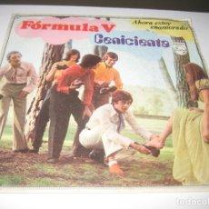 Discos de vinilo: FORMULA V - CENICIENTA 1969. Lote 179400562