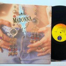 Discos de vinilo: DISCO LP VINILO MADONNA LIKA A PRAYER PRIMERA EDICION ESPAÑOLA DE 1989. Lote 179401232