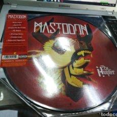 Discos de vinilo: MASTODON LP PICTURE DISC HUNTER 2017. Lote 179401421
