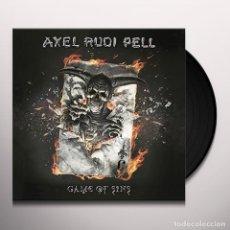 Discos de vinilo: AXEL RUDI PELL GAME OF SIN 2 LP NUEVO. Lote 179405518
