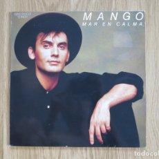 Discos de vinilo: RARE MAXI SINGLE MANGO MAR EN CALMA 1988 ARIOLA. Lote 179514351