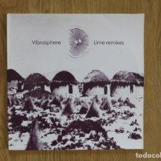 Discos de vinilo: 2 LPS SWEDEN VIBRASPHERE LIME REMIXES 2003. Lote 179514611