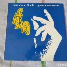 Discos de vinilo: SNAP - WORLD POWER . Lote 179516060