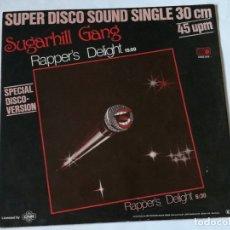 Discos de vinilo: SUGARHILL GANG - RAPPER'S DELIGHT - 1979. Lote 179517147