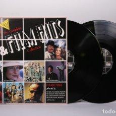 Discos de vinilo: DOBLE DISCO LP DE VINILO - THE COMPLETE TV & FILM HITS COLLECTION - ELAP MUSIC - AÑO 1991. Lote 179518696